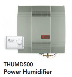 Adams Refrigeration Service - Trane Humidifiers - THUMD500